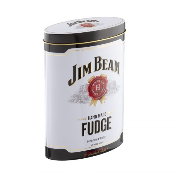 Jim beam Bourbon Whiskey fudge tin