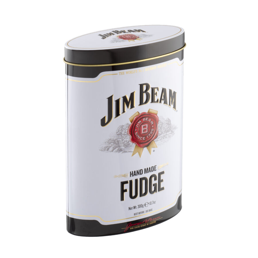 Jim beam Bourbon Whiskey fudge tin