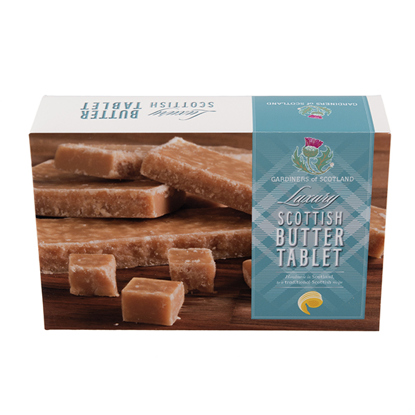 Luxury Scottish tablet carton
