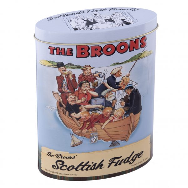 The Broons family vanilla fudge tin fishing trip