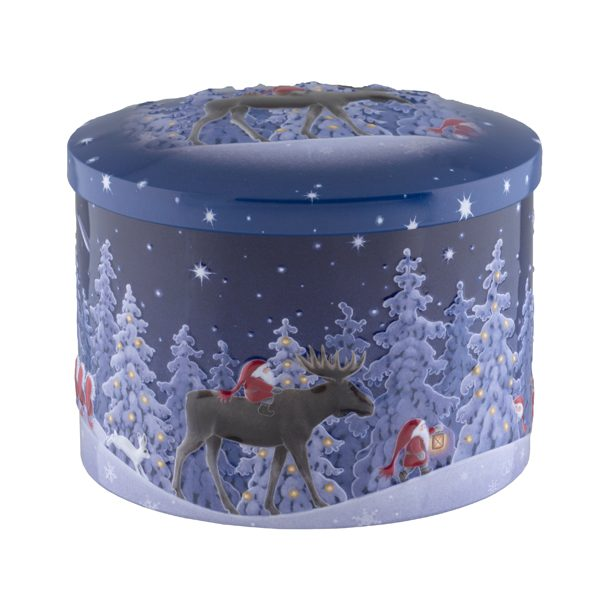 Xmas tin of fudge
