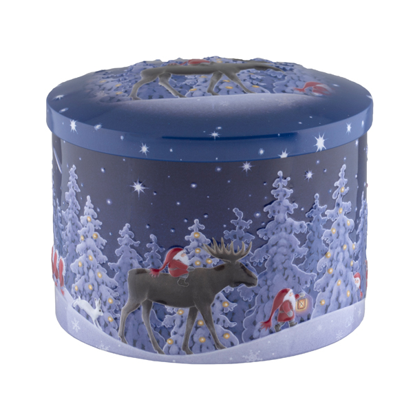 Xmas tin of fudge