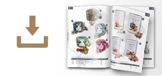trade brochure for fudge confectionery