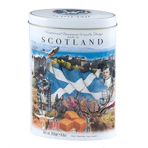 iconic Scotland Vanilla tin